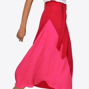 NWOT Awesome Colorblock Skirt